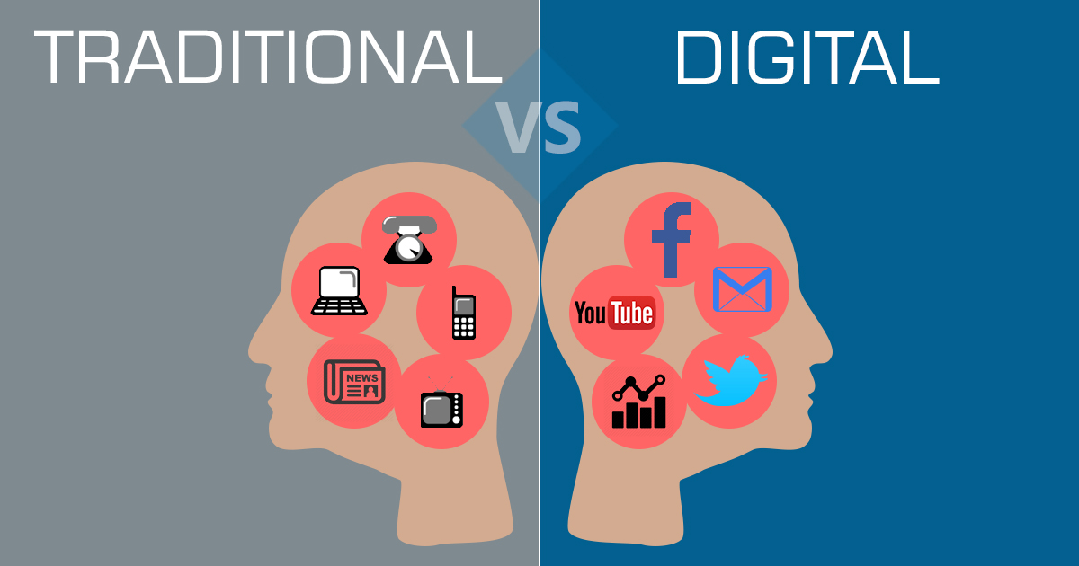 Digital marketing visible results
