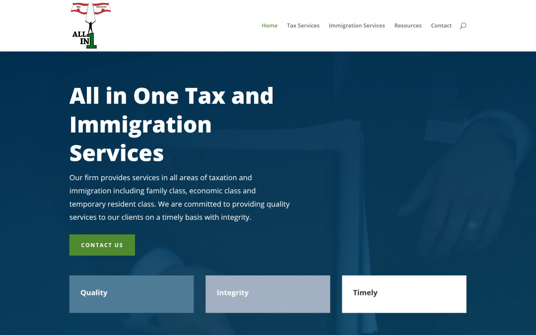 All In One Tax and Immigration Services – Case Study